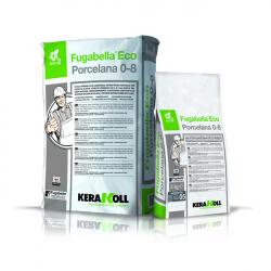Fugabella Eco Porcelana 0-8 – влагостойкая затирка для плитки, мозаики и камня