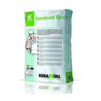 Sanabuild Eco – паропроницаемая минеральная штукатурка